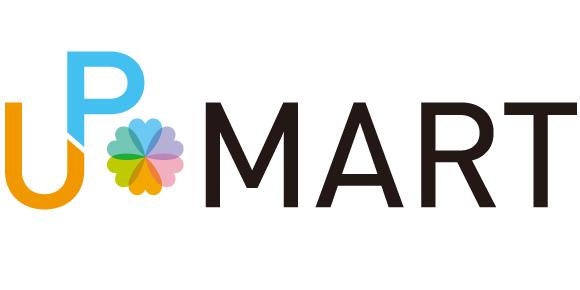 UP MARTのロゴ